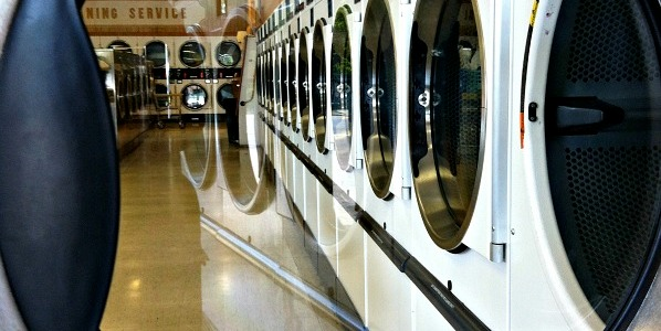 laundromat dryer door