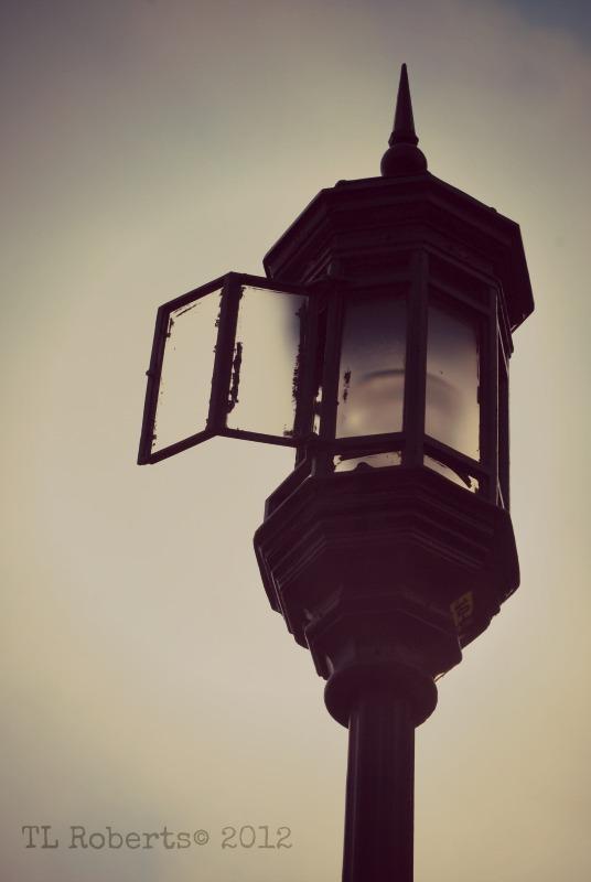 open street lamp