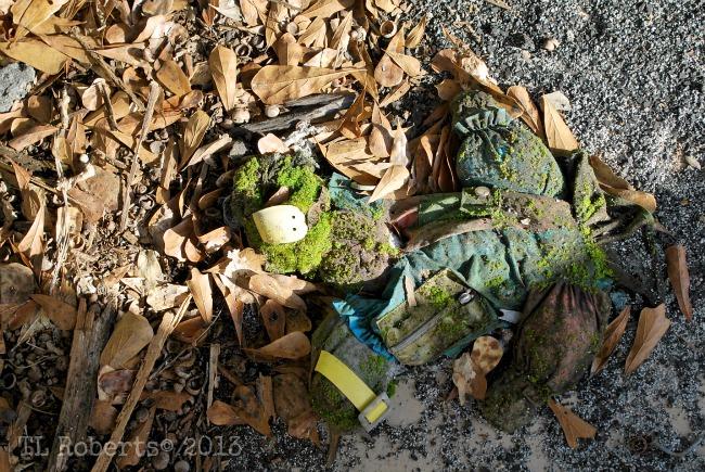 abandoned toy