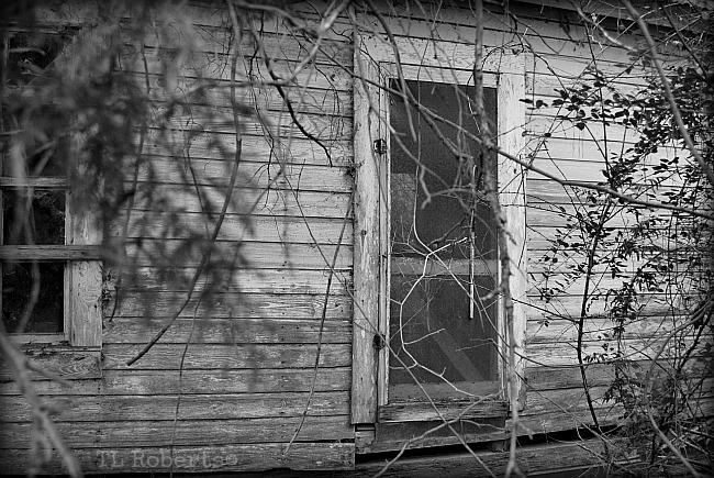 ramshackle house