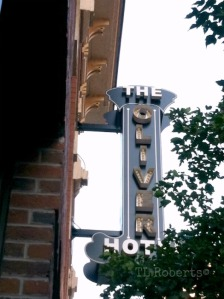 hotel marquee