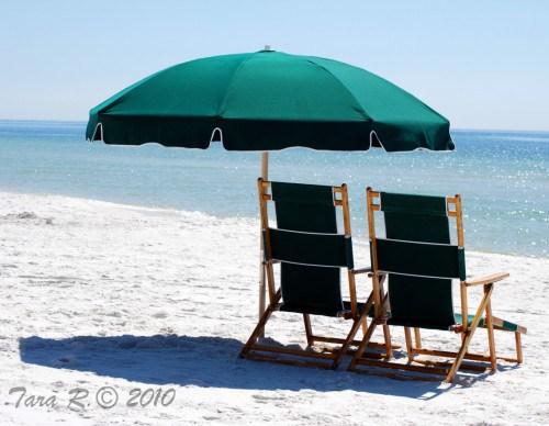 beach chairs