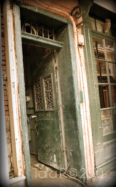 French Quarter doorway