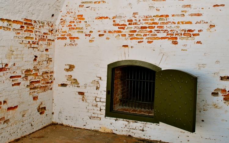 Fort Barrancas cell door