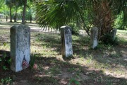 Union soldier grave markers
