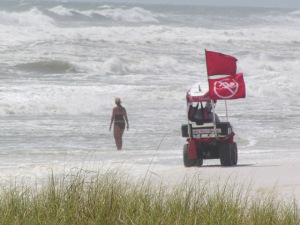 ranger patrol double red flags