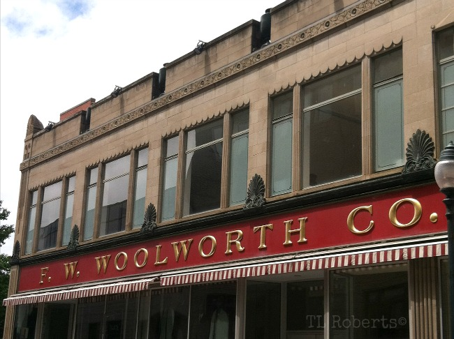 F. W. Woolworth store front
