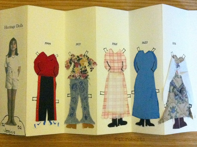 homemade paper dolls