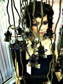 vintage permanent wave machine