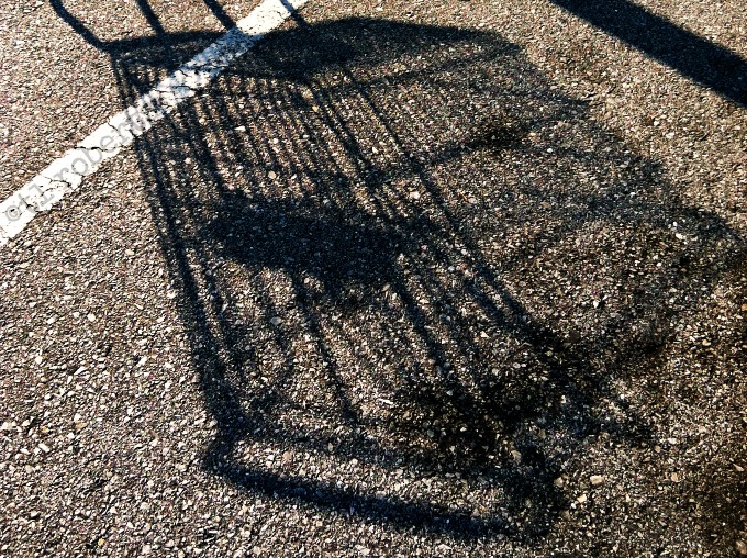 shopping cart shadow