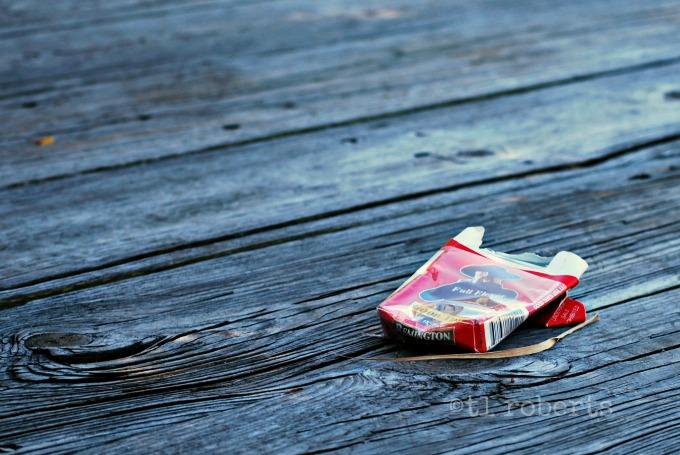 crushed cigar pack