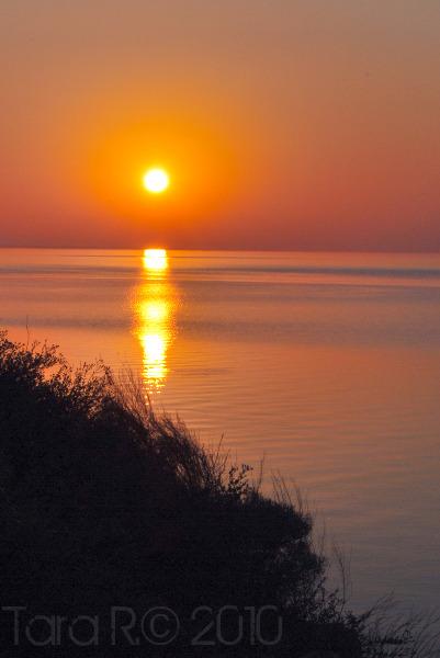 orange sunrise
