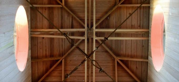 inside cupola