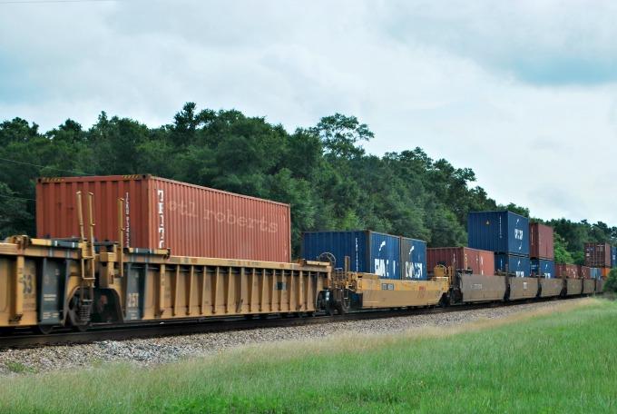 train cargo cars
