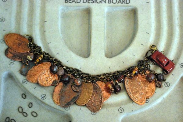 penny bracelet