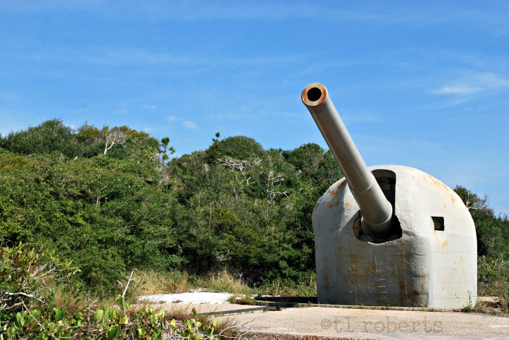 cannon at fort pickens Battery 234