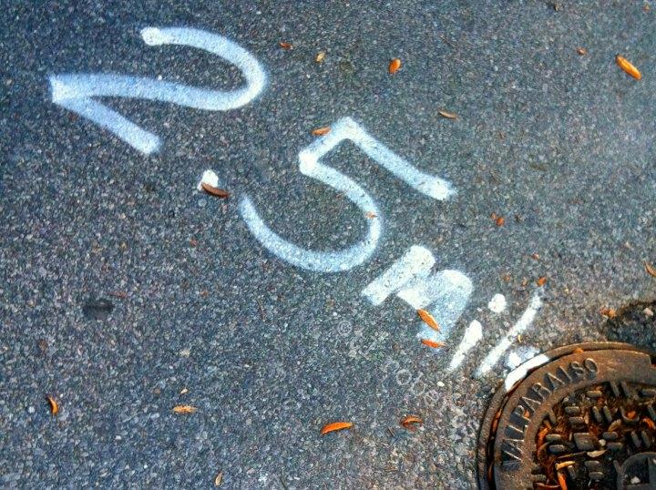 2.5 mile marker