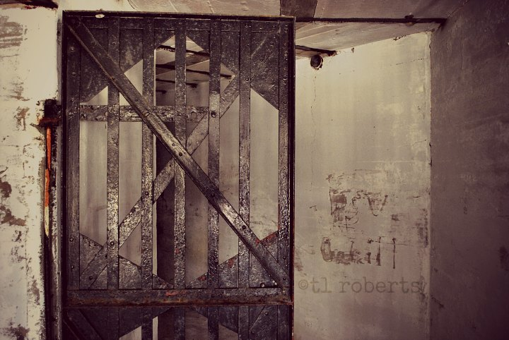 abandoned jail cell
