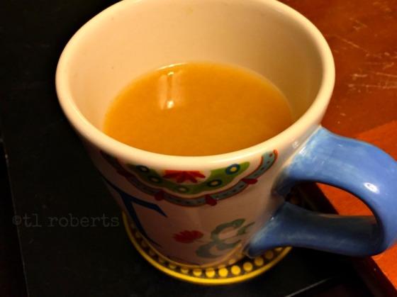 a mug of wassail