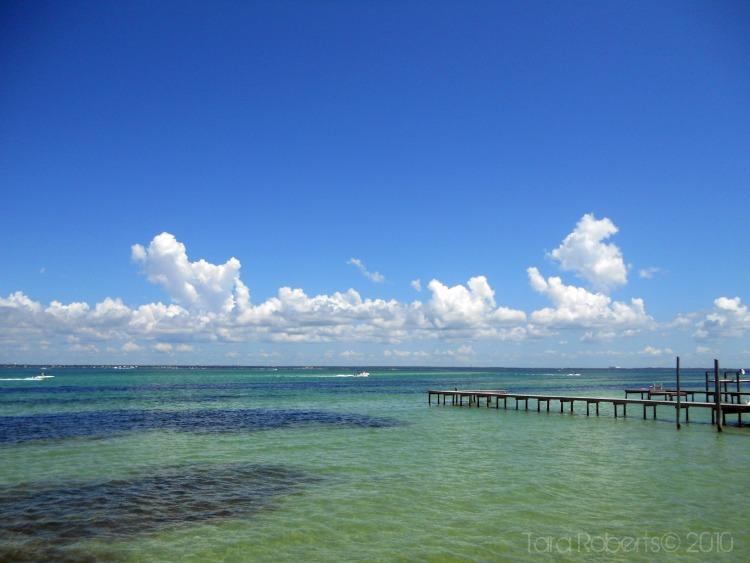 ocean fishing pier