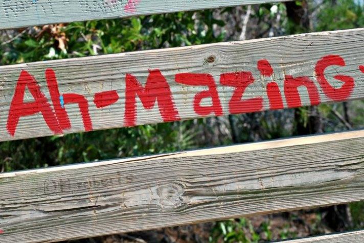 Ahmazing graffiti