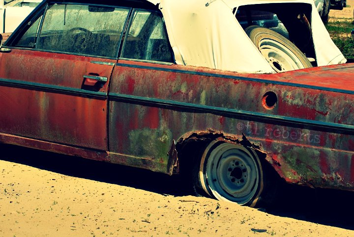 junkyard car Nash Rambler