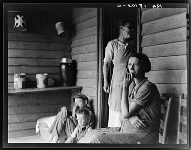 Library of Congress sharecropper photo