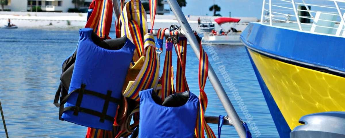 life vests header
