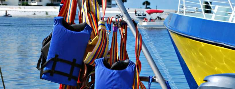 life vests header