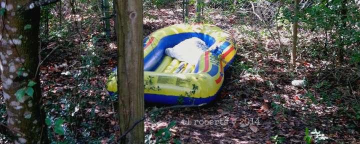 Found: one raft