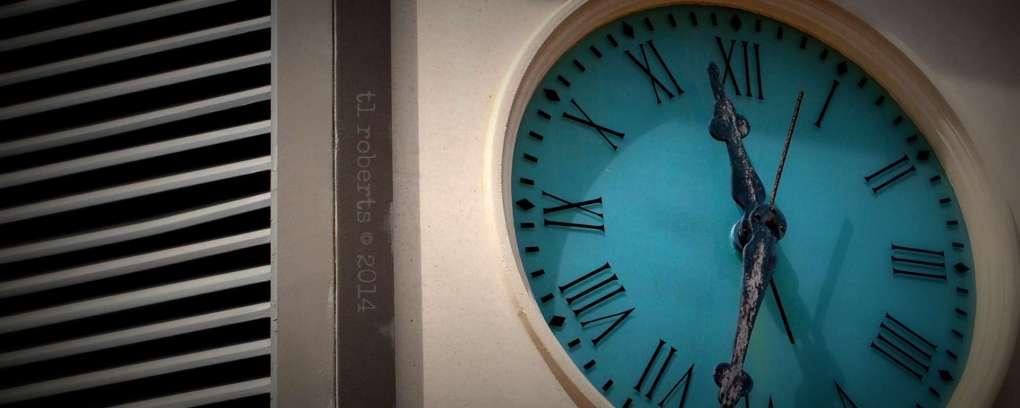 large clock face