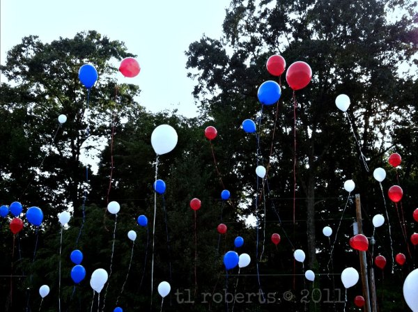 helium balloon release