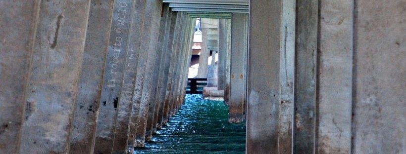 under highway bridge