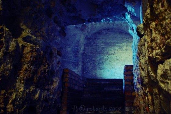 stone passageway and stairs
