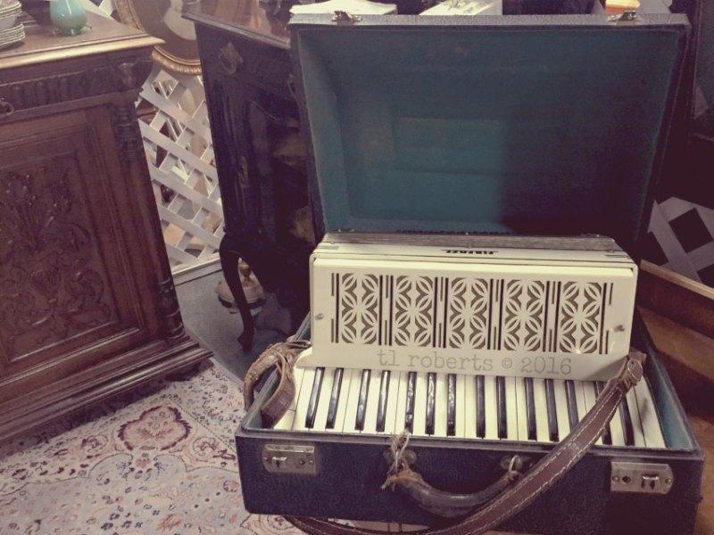 vintage accordion