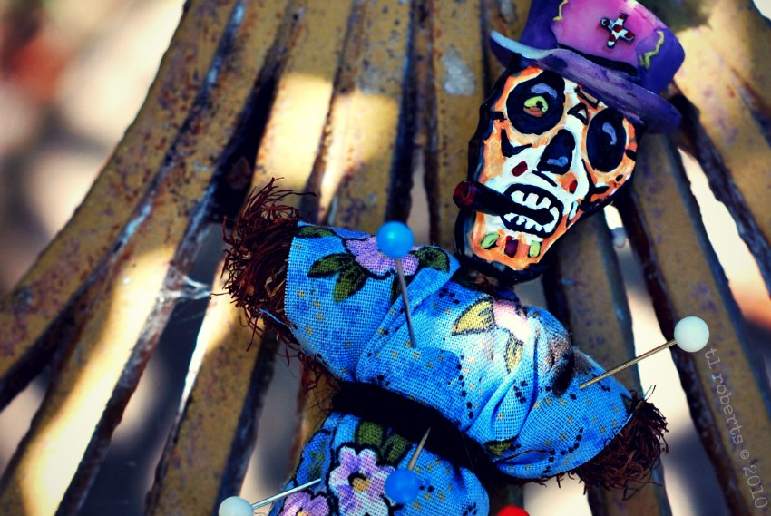 small voodoo doll