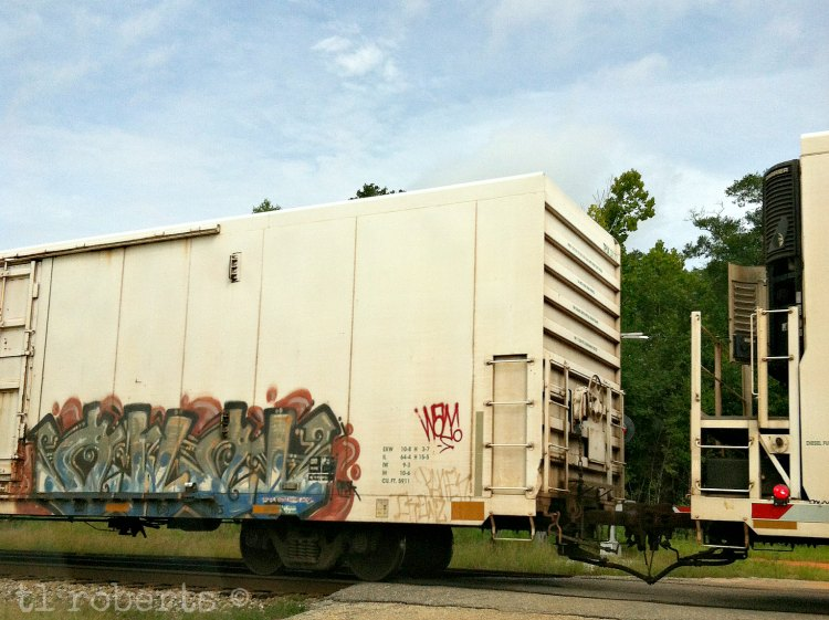 train car graffiti