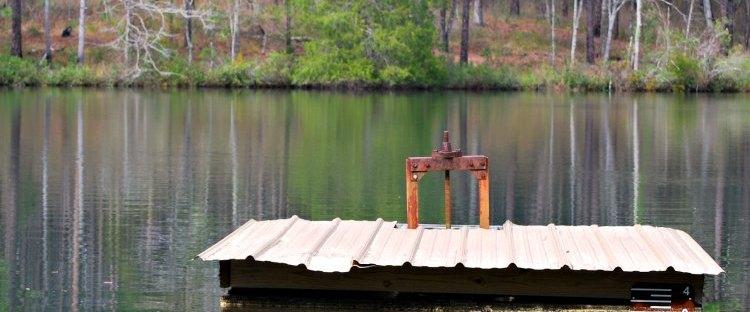 floating diving raft
