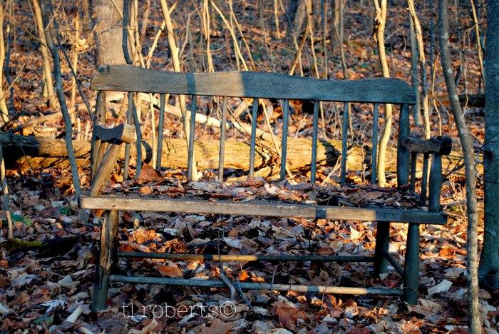 Humble, oaken pew