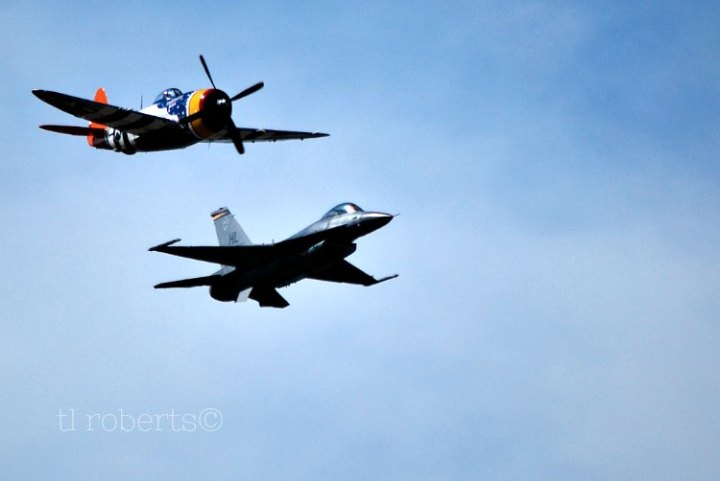 Past and Present air power