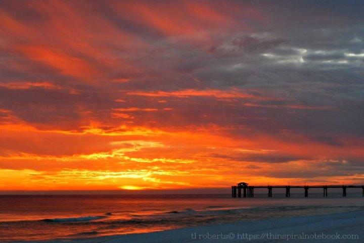 Final setting sun